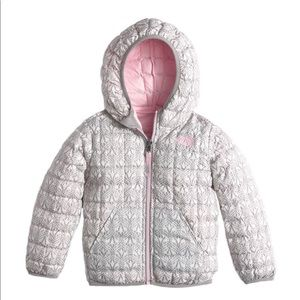 North Face toddler girl Thermoball hooded jacket